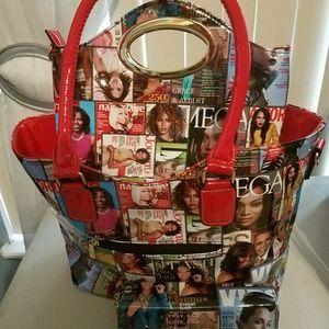 Handbag and wallet set