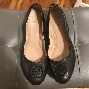 Tory Burch women's leather flats.