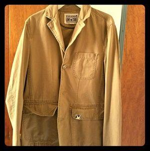 Khaki converse ladies jacket