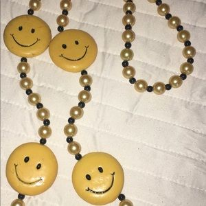 Vintage Mardi Gras beads