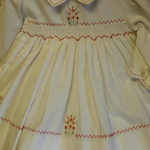12 month hand smocked