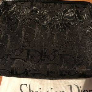 Authentic Christian Dior French purse clutch