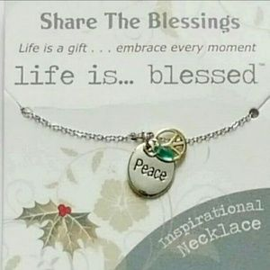 Inspirational Peace Sign Necklace
