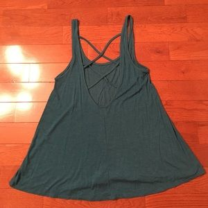 💕Teal Open Back Tank Top💕