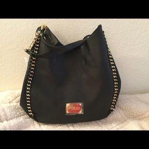 Bebe Colette chain edge TRI entry satchel