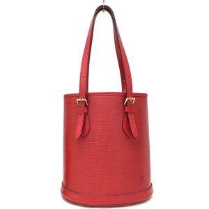 Louis Vuitton Special Order Shoulder Bag Epi Red