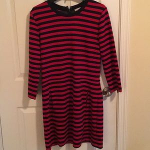 Gap red and navy striped Dress