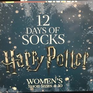 Accessories - Harry Potter 12 days socks calendar New