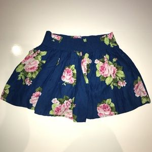 Hollister Floral Skirt XS