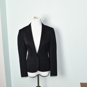 Ann Taylor Black Sleek Blazer