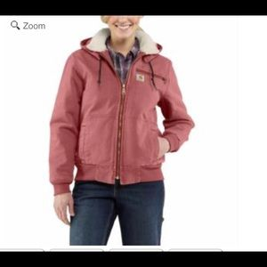 Cathartic pink weathered jacket