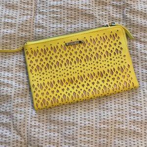 Stella & Dot Wallet Clutch - Yellow