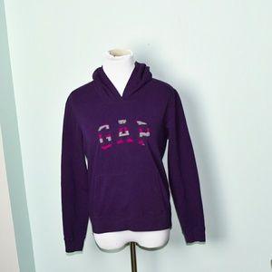 GAP Purple Signature Hoodie