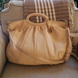 Johnston and Murphy leather purse
