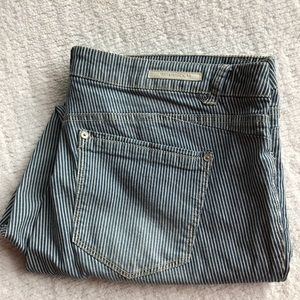 Railroad Stripe Jeans!