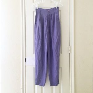 Vintage purple pants