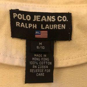 Polo half jacket, cream. Too adorable on Great buy