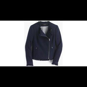 JCrew Tweed Jacket (Navy)