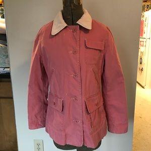 Anthropologie G1 Basic Goods pink jacket