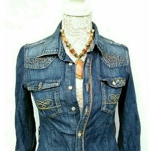 """TAILORED PEPE JEANS FITTED """"PEARL""""JEANS DRESS"""