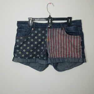 American flag shorts size 13