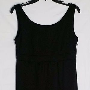 Jessica Howard Dress Petite 10P Black Knit Stretch