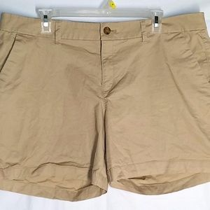 Old Navy Shorts 16 Khaki Beige Chino Casual