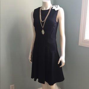 Diane von Furstenberg Black Sleeveless Dress