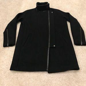Madewell City Grid Coat, LIKE NEW, Size 4