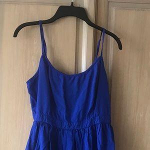 American Eagle Cobalt Blue Minidress