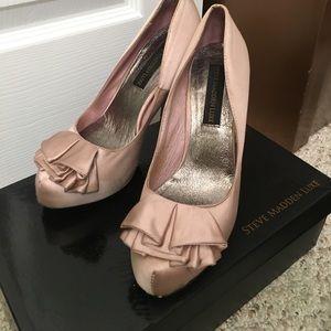 Steve Madden Luxe satin heels