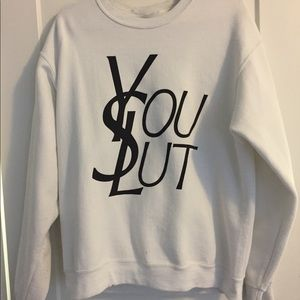 Urban outfitters YSL crew neck sweater