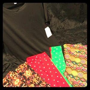 LuLaRoe leggings and Black Irma