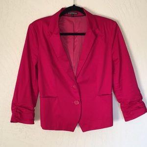 Express red blazer