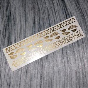 NEW ULTA Beauty Gold Metallic Temporary Tattoos