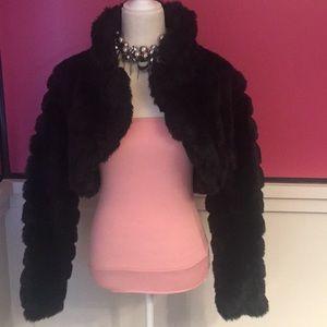 NWOT Black 3/4 Waist Jacket