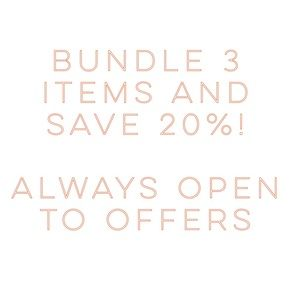 Other - Bundle three items and save 20%!