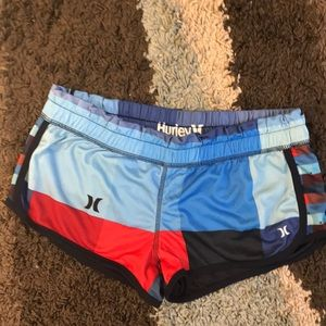 Hurley size M Booty shorts.