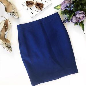 J. Crew | No. 2 Pencil Skirt in Cobalt Blue
