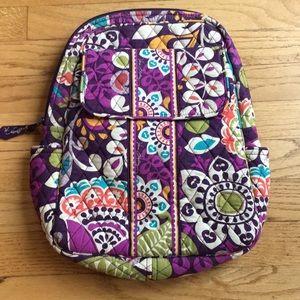 Vera Bradley Purple Backpack