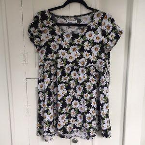 American Apparel Floral Daisy Dress