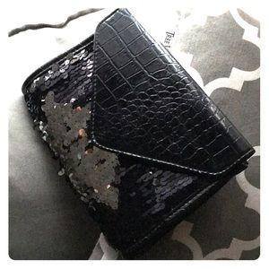 🖤 NWT Forever 21 Sequin Handbag / Clutch 🖤