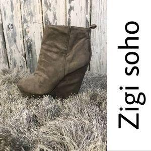 Zigi soho Susie suede platform boots