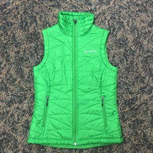 Green Women's Columbia Vest Size XS