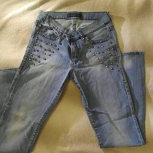 Rock & Republic Studded Jeans 8M