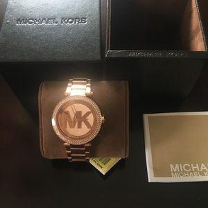 Brand new never worn Michael Kors watch authentic