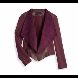 Edyson Maisha Ponte and Faux Leather Jacket