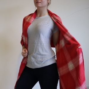 NWT Red Wrap Scarf