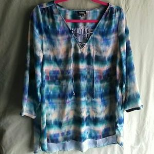 a.n.a. tunic blouse.
