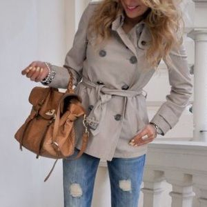 Gap Trench Coat- Double Breasted